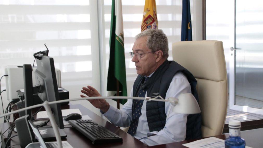 El consejero de Economía, Conocimiento, Empresas y Universidad, Rogelio Velasco