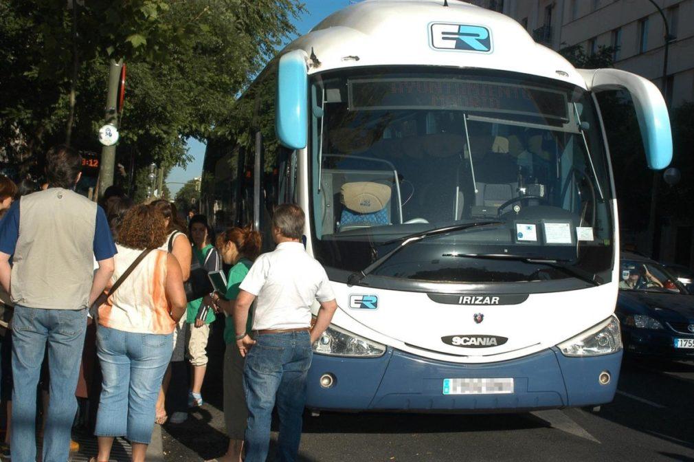 Imagen de archivo de un autobús de transporte