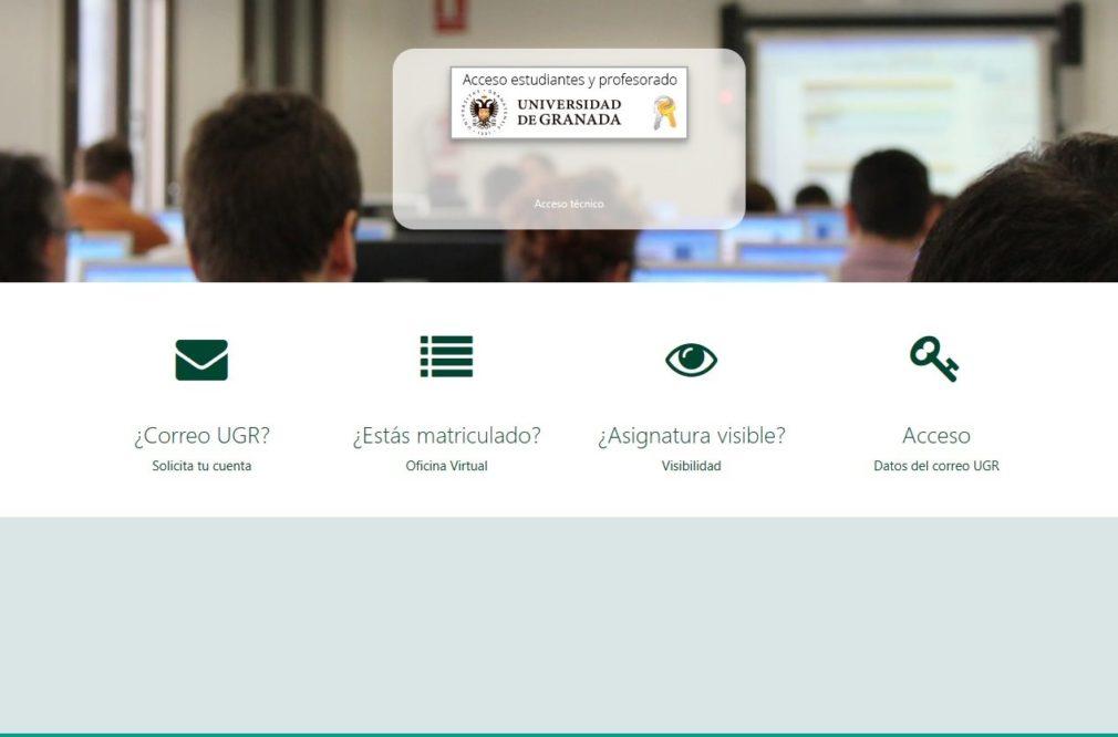 Plataforma de Recursos de Apoyo a la Docencia (Prado) de la Universidad de Granada