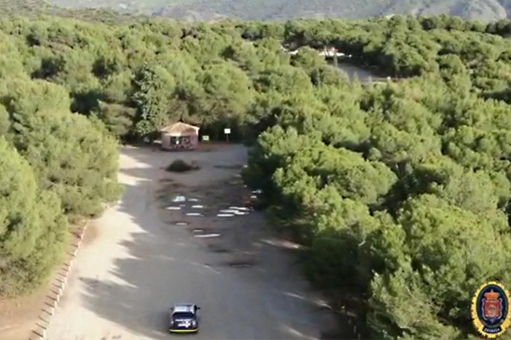 pantallazo dron policia