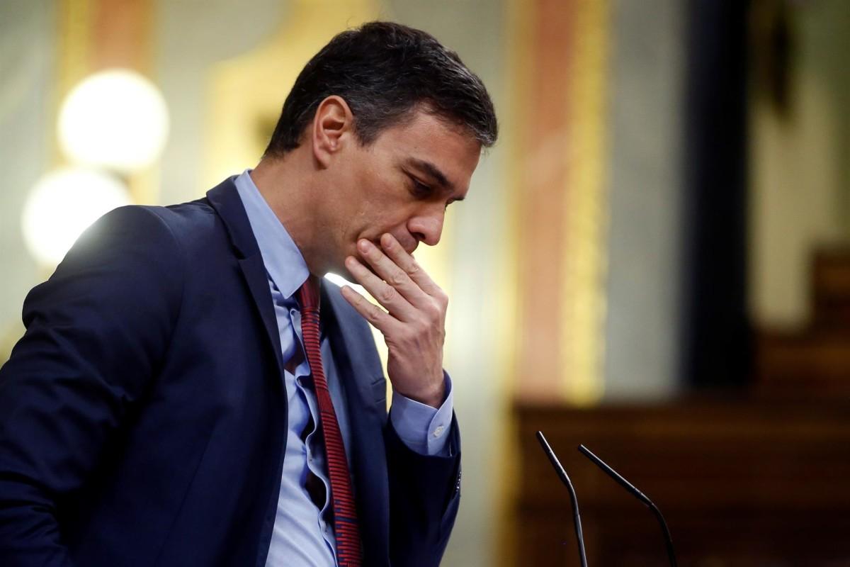 pedro sanchez en el congreso Foto EP