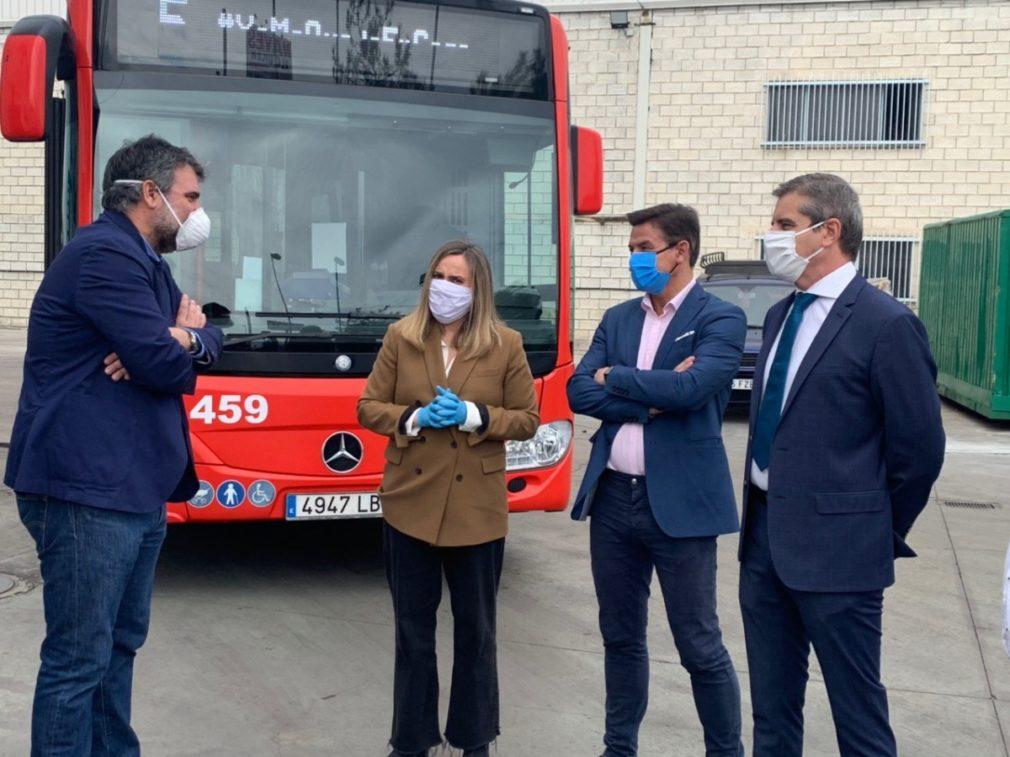 Reunión de la consejería de Fomento con Transportes Rober