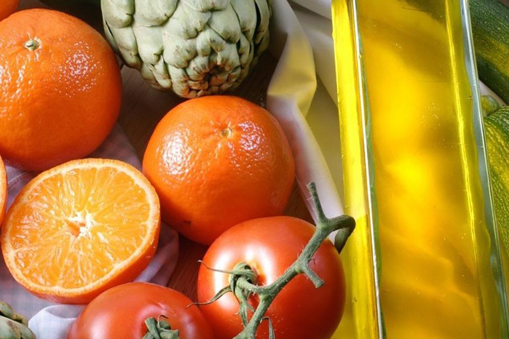 tomate naranja aceita alcachofa