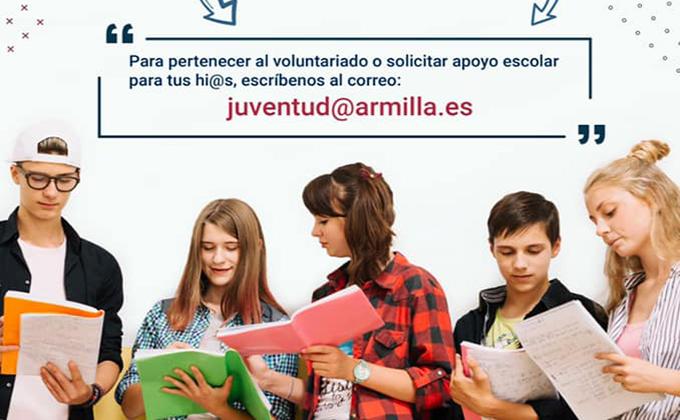 voluntariado escolar Armilla