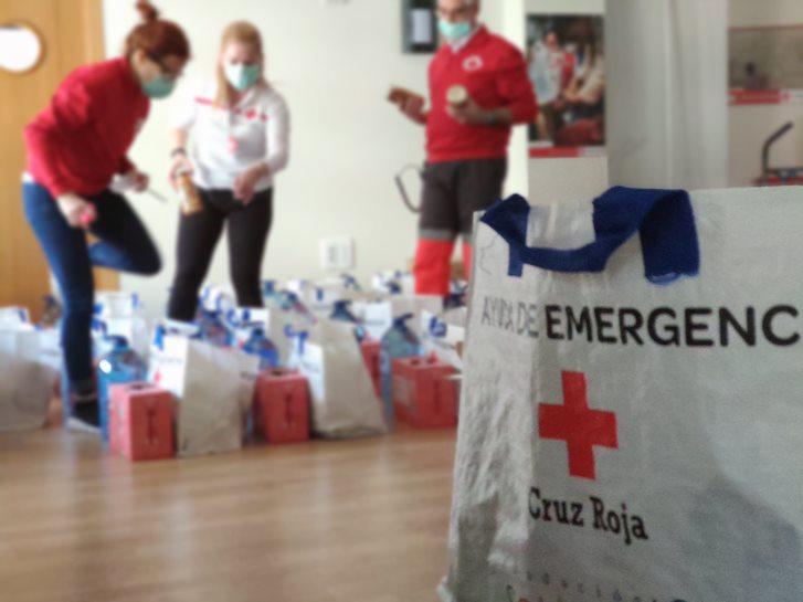 Ayuda de emergencia Cruz Roja Granada 1