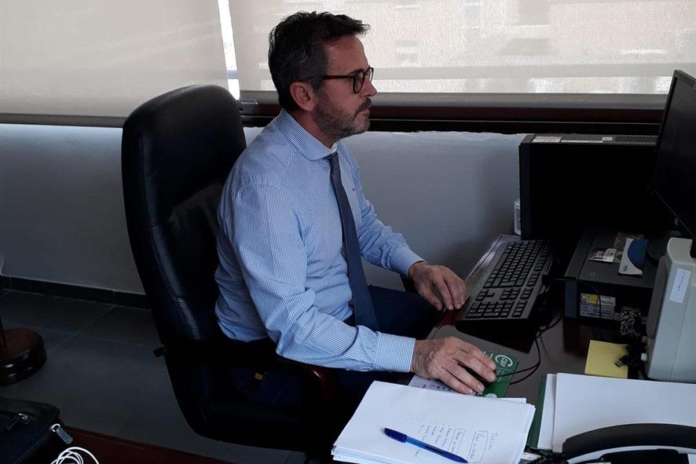 El delegado de Turismo, Regeneración, Justicia y Administración Local, Gustavo Rodríguez