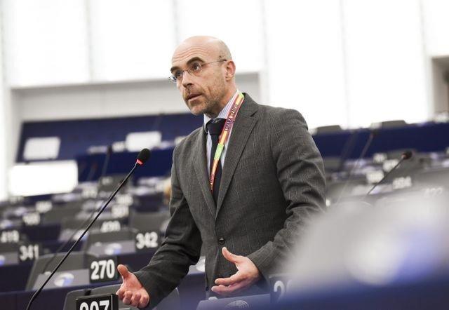 El portavoz de Vox Jorge Buxadé - Europa Press