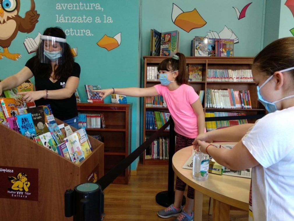 biblioteca huétor tájar