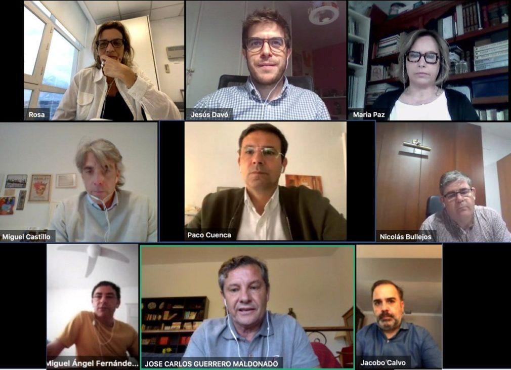 Reunion grupo socialista-colegio de arquitectos