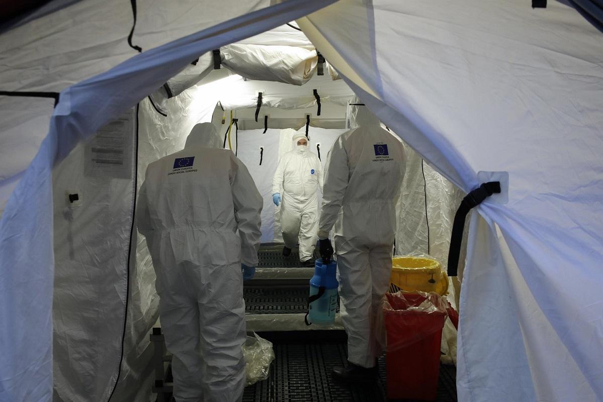 covid hospital granada