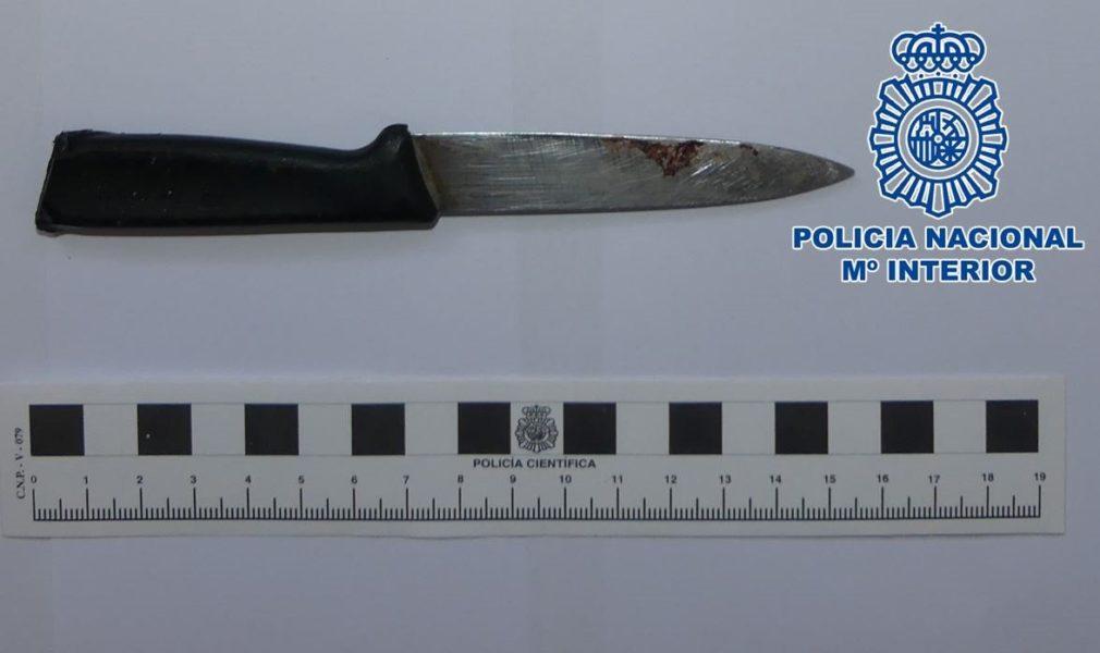 cuchillo intervenido motril