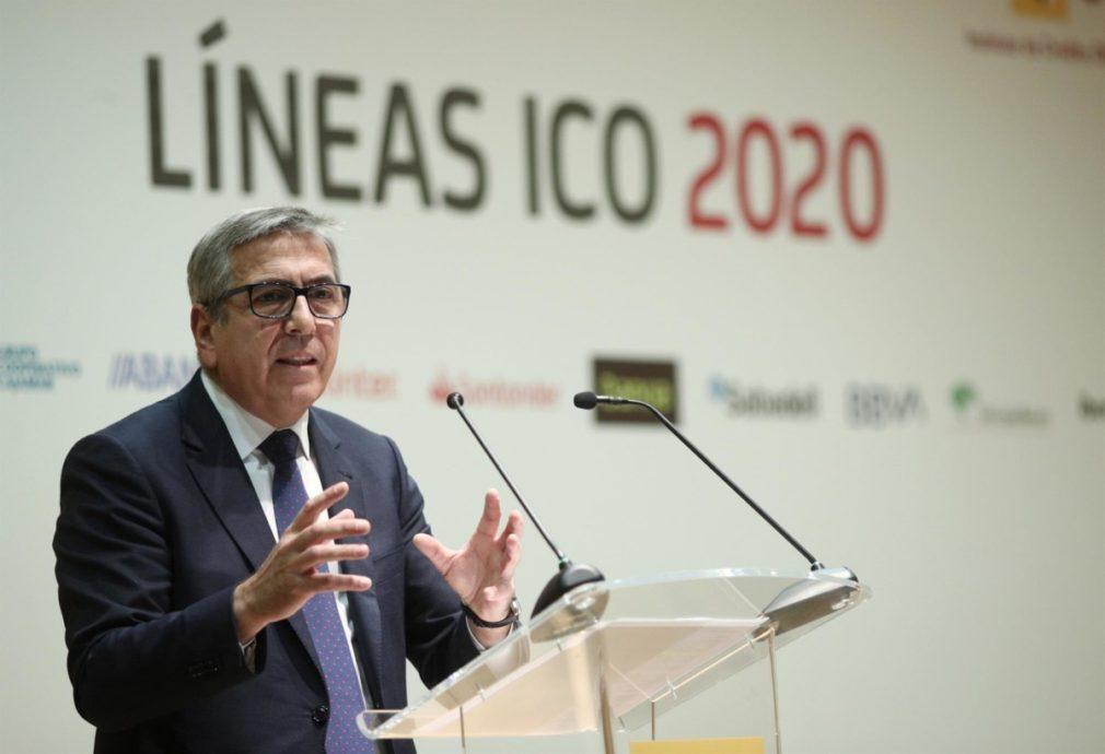 El presidente del Instituto de Crédito Oficial, José Carlos García de Quevedo