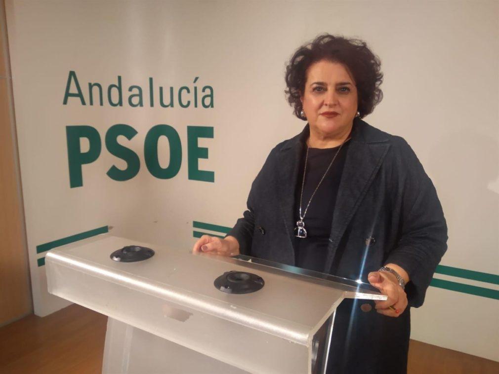 La parlamentaria andaluza del PSOE Teresa Jiménez