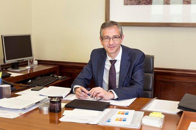 El gobernador del Banco de España, Pablo Hernández de Cos   EP