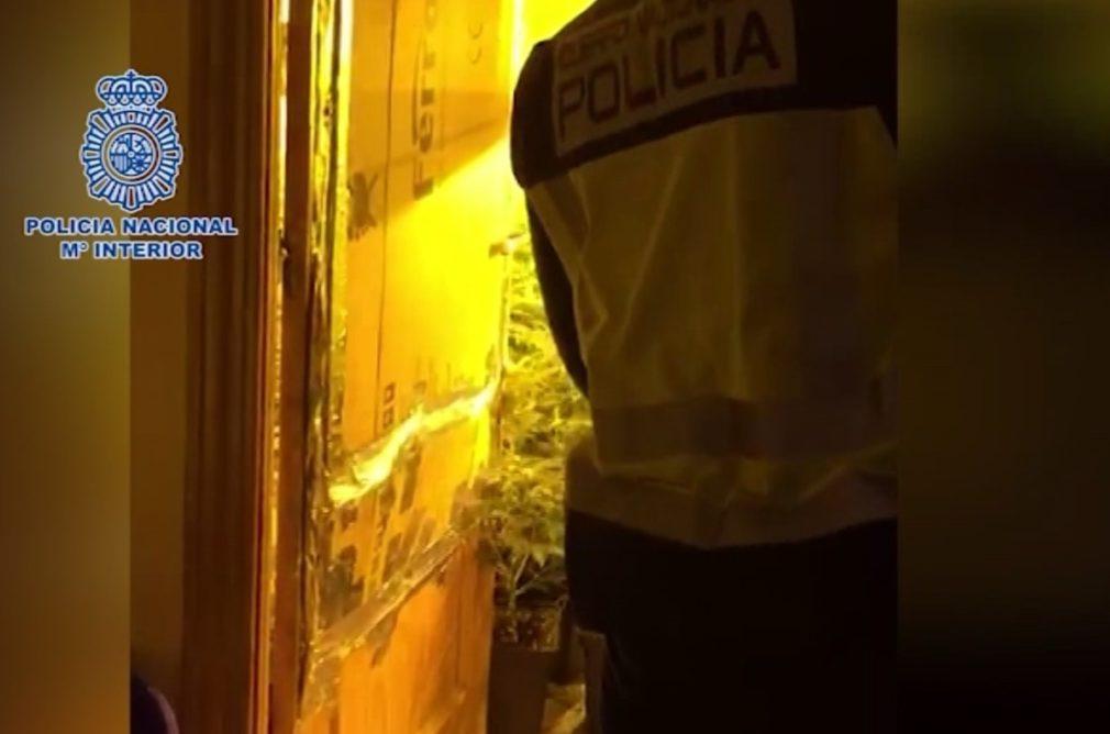 policía nacional droga