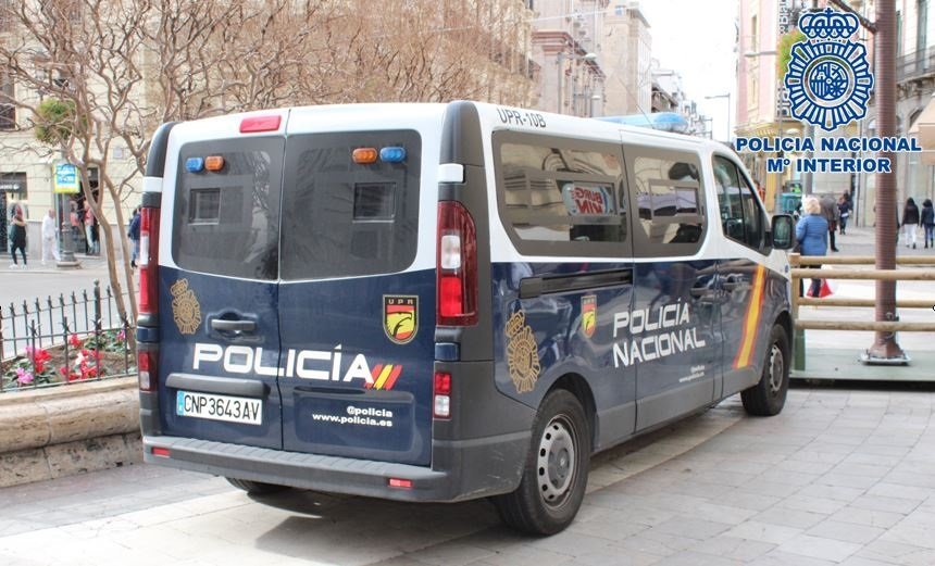 furgon policia nacional