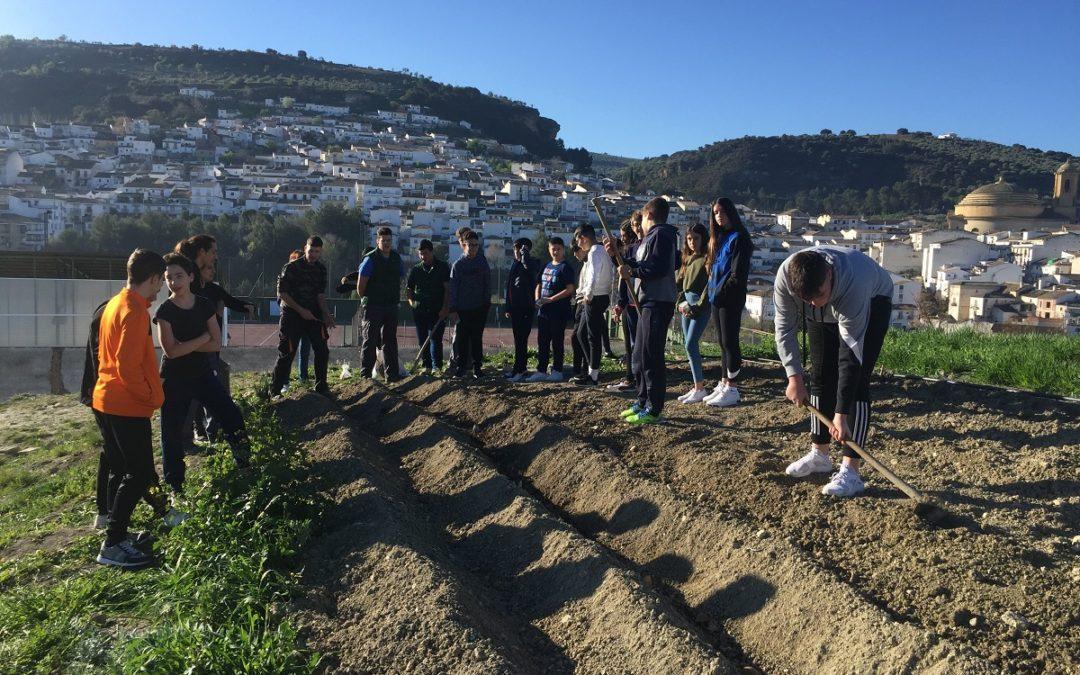 Montefrío anima a los jóvenes a formarse como agricultores y ganaderos tras la crisis del coronavirus