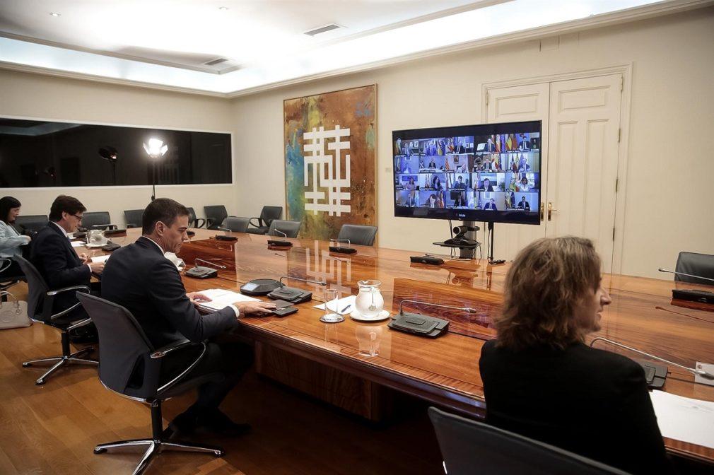 pedro sanchez videoconferencia