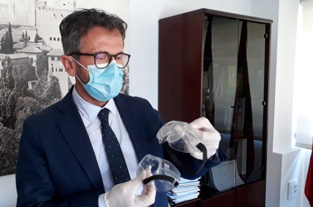 Delergado Granada gafas protectoras 1