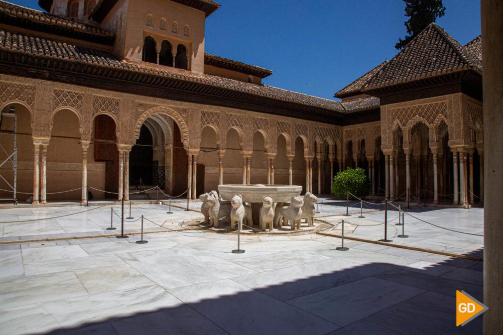 FOTOS NUEVAS MEDIDAS DE SEGURIDAD EN LA ALHAMBRA (11)