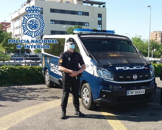 Policía nacional en Granada -