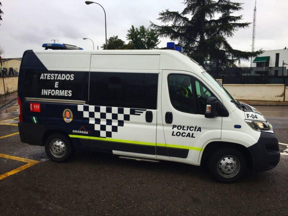 Furgoneta de la Policía Local de Granada - POLICÍA LOCAL - Archivo
