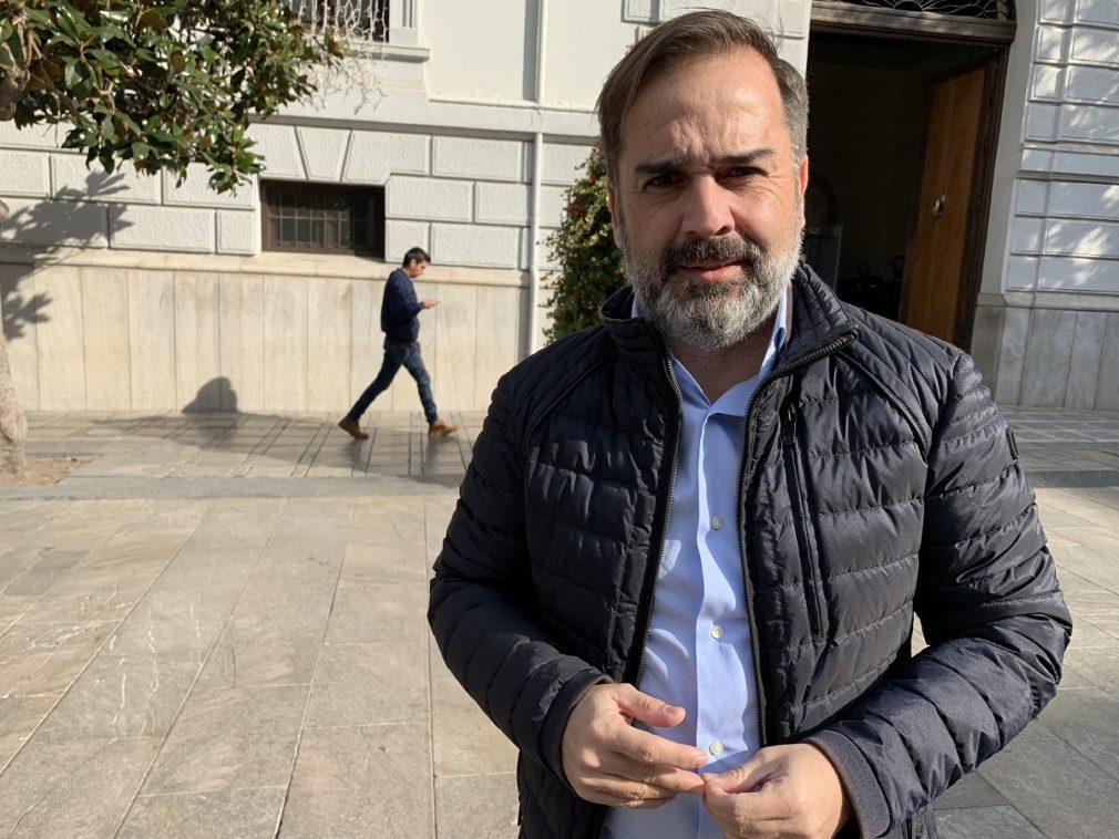 Jacobo Calvo, edil del PSOE