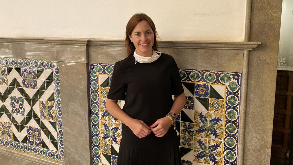 Mónica Rodríguez Gallego, concejal de VOX en el Ayuntamiento de Granada