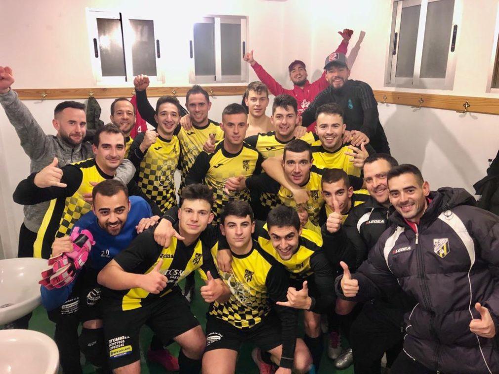 equipo senior del Montefrío CF