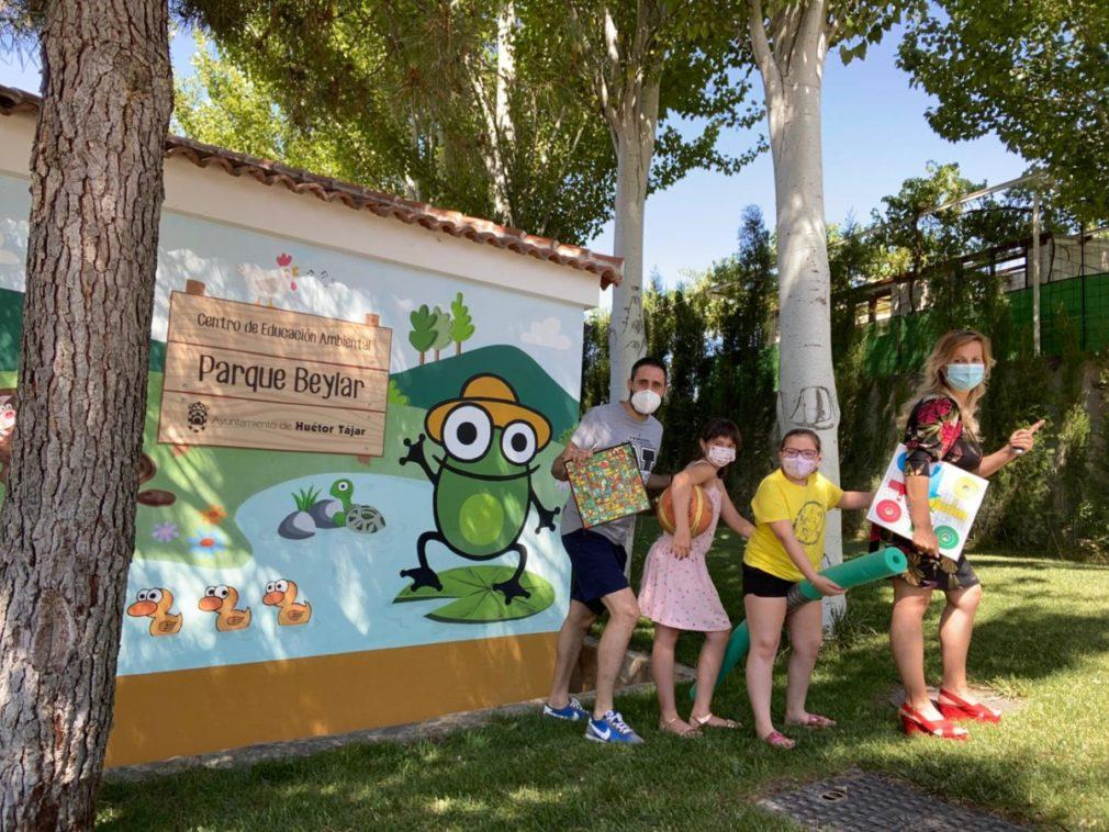 escuela de verano en el Parque Beylar de Huétor Tájar