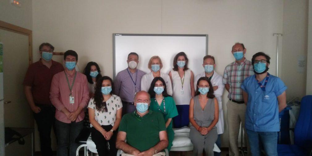 Parte del equipo de Otorrinolaringología