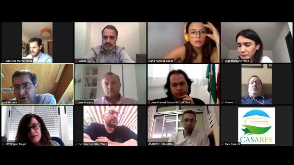 Reunión del PSOE de Granada con el sector educativo - PSOE