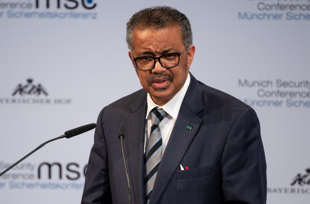 director general OMS Tedros Adhanom Ghebreyesus – Sven Hoppe -dpa – Archivo