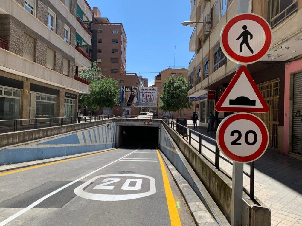 paso subterráneo calle Emilio Durán Durán
