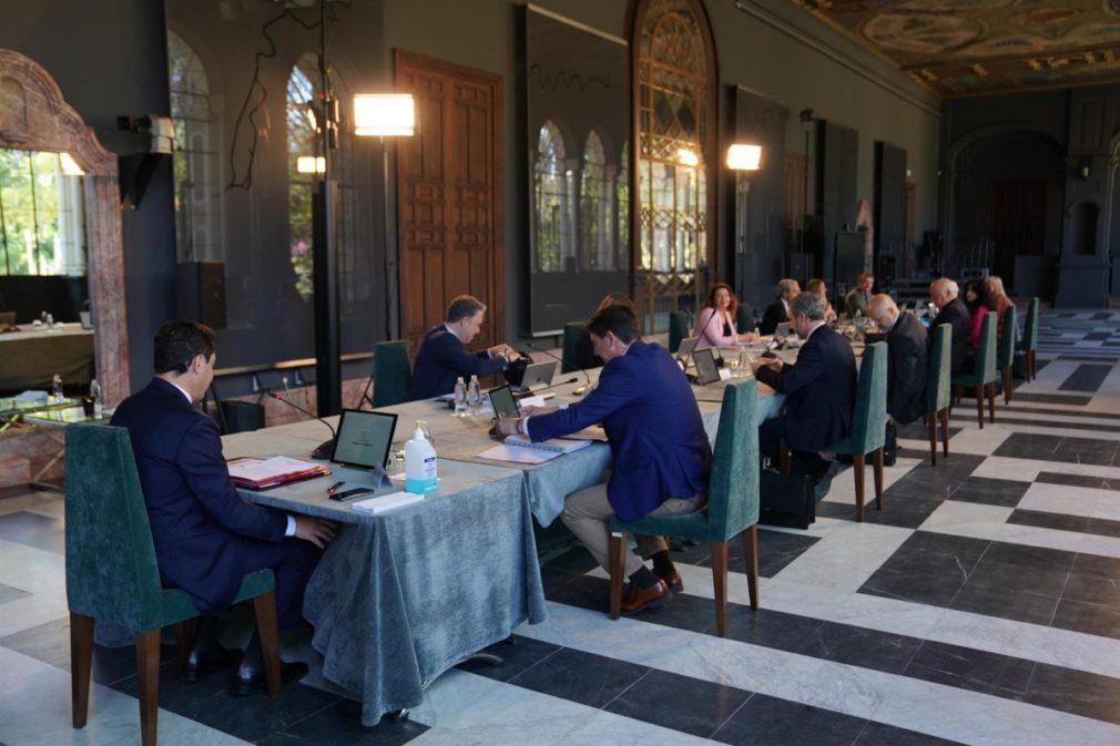 Reunión del Consejo de Gobierno andaluz presidida por Juanma Moreno