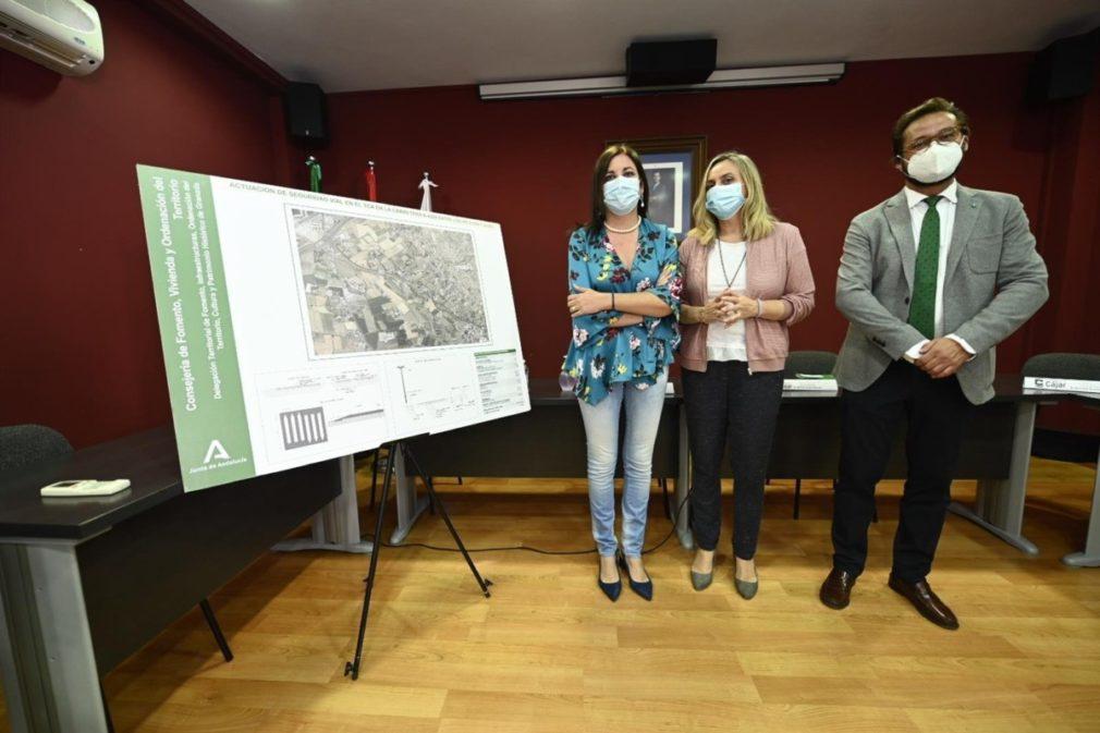 Proyecto para la reparación del firme de la carretera de Cájar