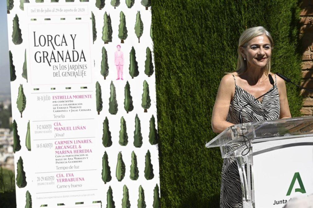 Presentación Del Ciclo 'Lorca Y Granada En Los Jardines Del Generalife'
