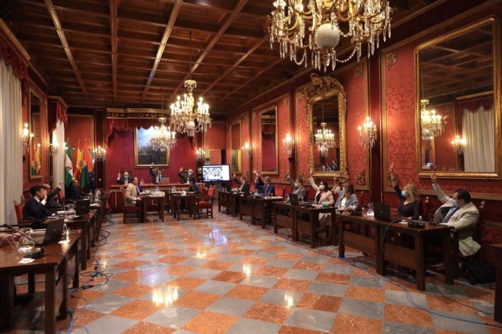 pleno Ayuntamiento de Granada 2020