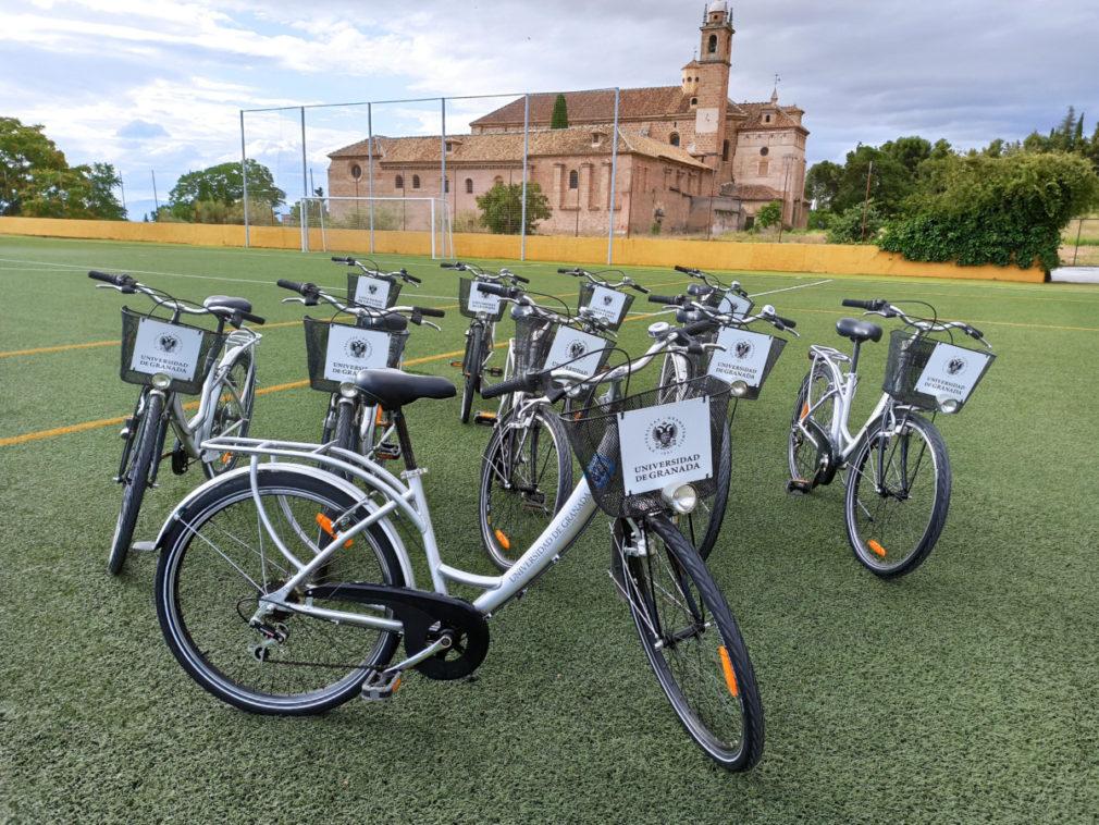 sistema cesion de bicicleta UGR