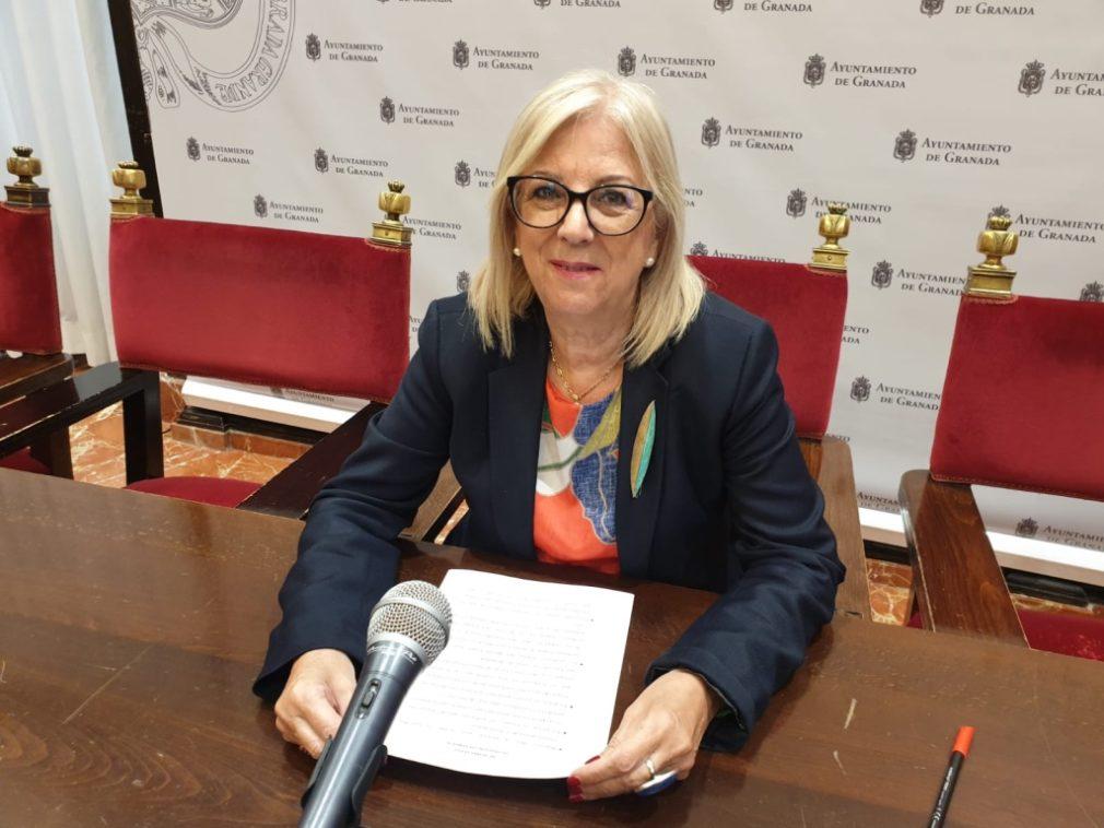 María de Leyva PSOE Granada