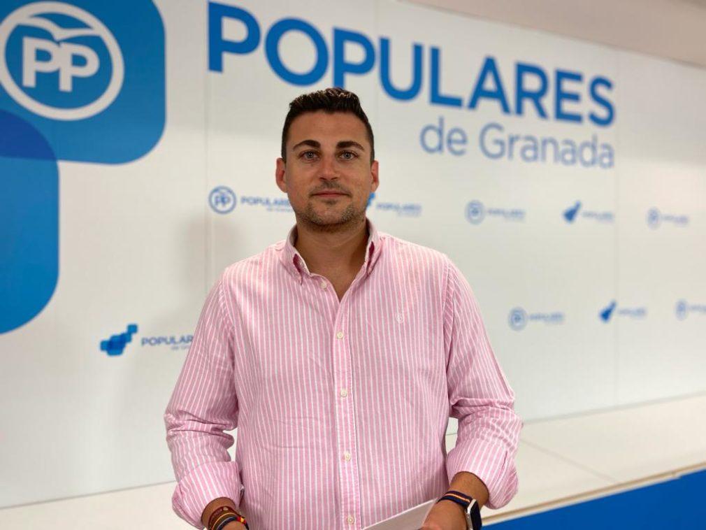 El parlamentario andaluz del PP Rafael Caracuel 06.7.2020