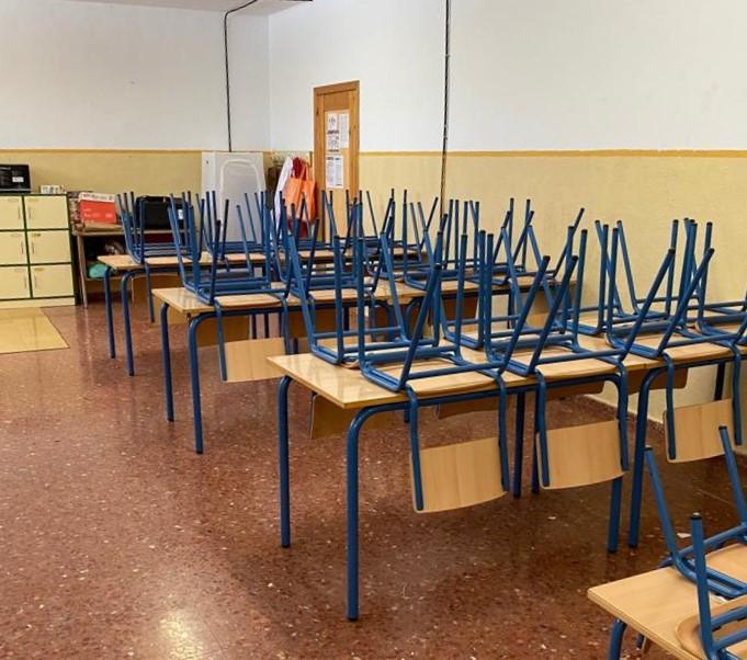 25 agosto 2020 Centros Escolares