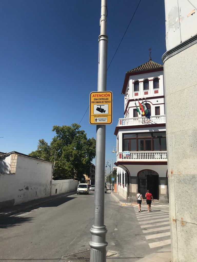 Cámaras de seguridad vial Pinos Puente