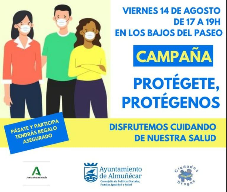 CAMPAÑA PROTEGETE PROTEGENOS JUVENTUD Y SALUD ALMUÑECAR 20