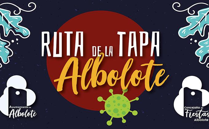 CARTEL RUTA DE LA TAPA ALBOLOTE