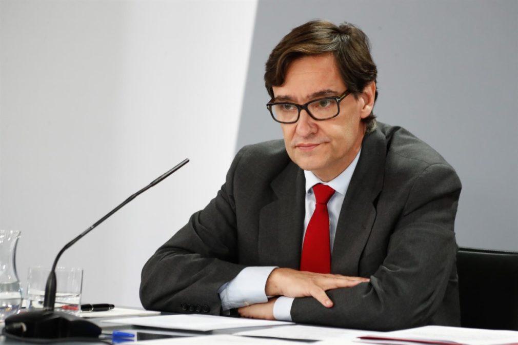 El ministro de Sanidad, Salvador Illa FOTO Óscar J.Barroso - Europa Press