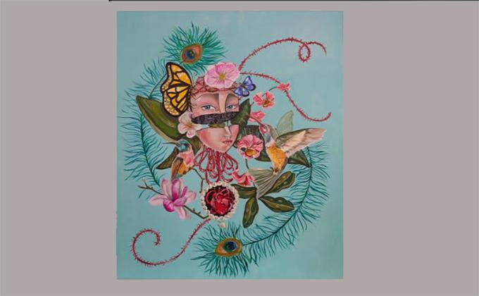 Espinada, de la colección Pandemia, del artista motrileño José María Bea