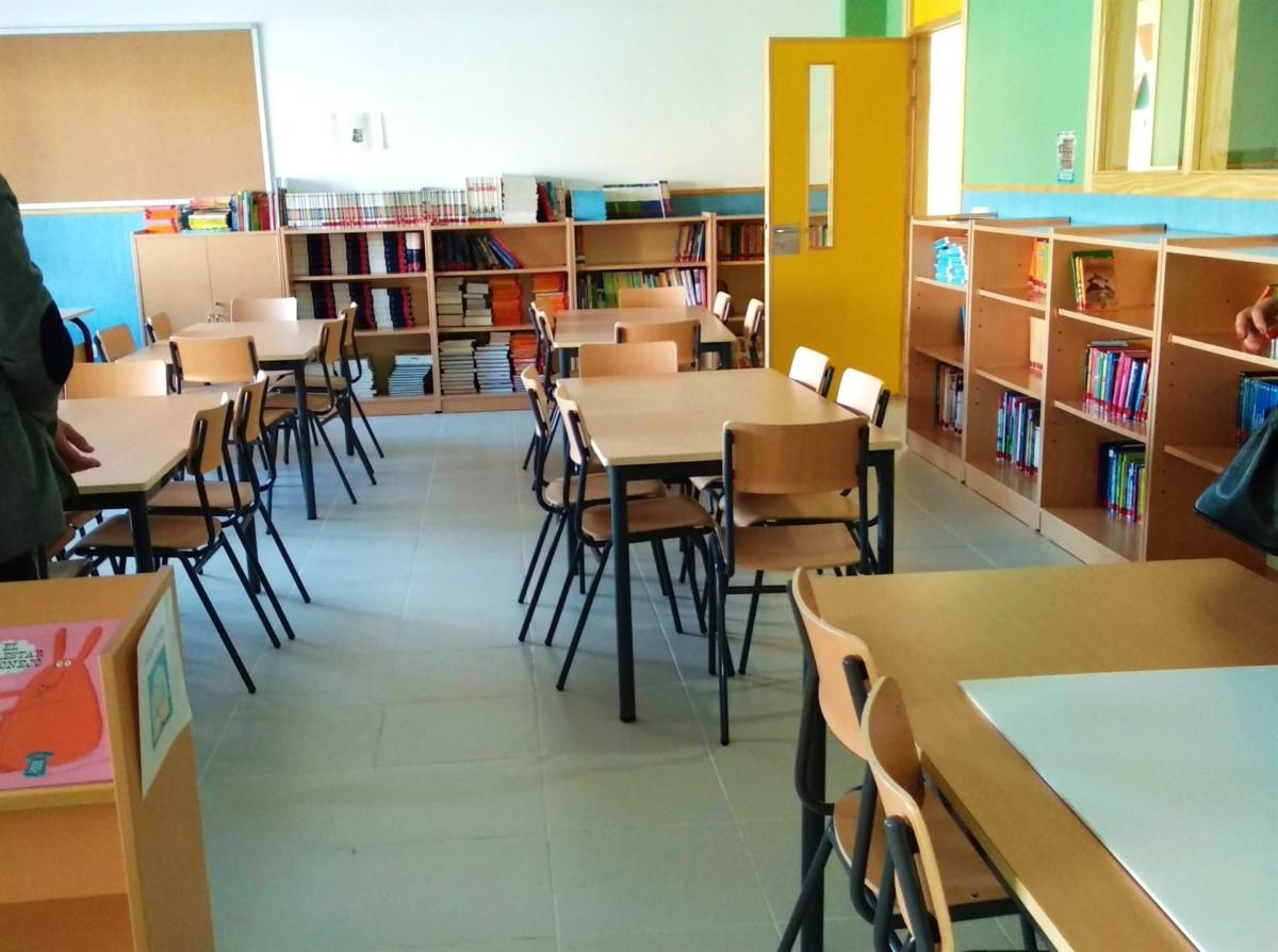 Foto recurso de colegio – Europa Press