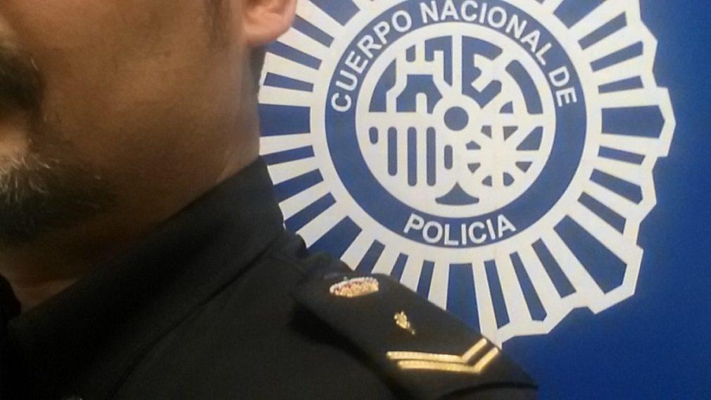 Imagen de archivo de la Policía Nacional agente