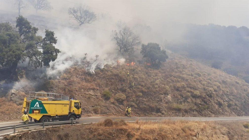 Incendio de Polopos - INFOCA